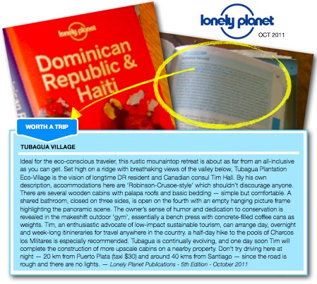 Lonely Planet Review from October 2011