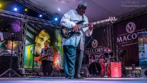Abraham Laboriel performs at Dominican Republic Jazz Festival 2013