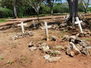 Cemetery at La Isabela