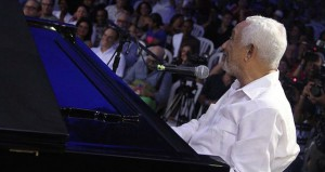 Rafael Solano performs 'Por Amor.' Photo courtesy of Dominican Republic Jazz Festival