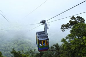 Puerto Plata cable car. Photo courtesy of Dominican Ministry of Tourism